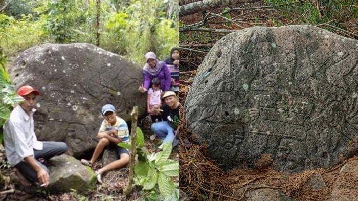 Batu Peninggalan Megalitik Diterjang Banjir Bandang di Lahat, Benda Bersejarah Itu Dicemaskan hilang