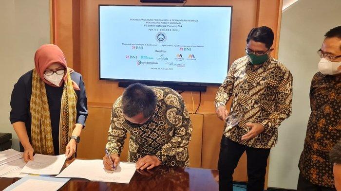 PT Semen Baturaja Dapat Tambahan Kreditur, Target Kredit Sindikasi 1,7 Triliun Terpenuhi