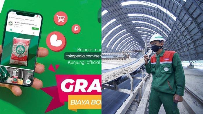 Semen Baturaja Kini Tersedia di Tokopedia, Gratis Ongkir dan Gratis Biaya Bongkar Semen