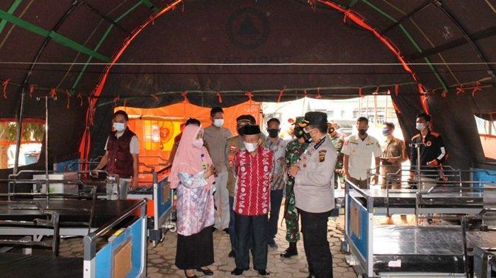 Bed di Lapangan RSUD Talang Ubi Masih Belum Terisi, Antisipasi Pasien Covid-19 Melonjak
