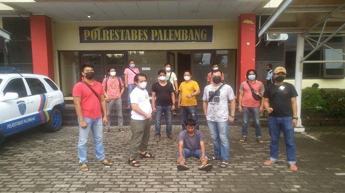 Buronan Begal di BKB Palembang, Pukul dan Tendang Seorang Pelajar Saat Beraksi, Polisi Sita ATM