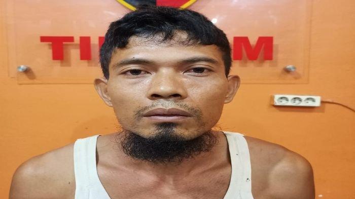 Todongkan Pistol ke Pacar Korban, Buron Begal di OKU Timur Ditangkap di Banyuasin