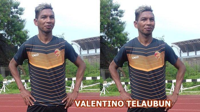 Valentino Telaubun Rela Turun Kasta Tinggal Persipura Demi Penuhi Target Sriwijaya FC Promosi Liga 1