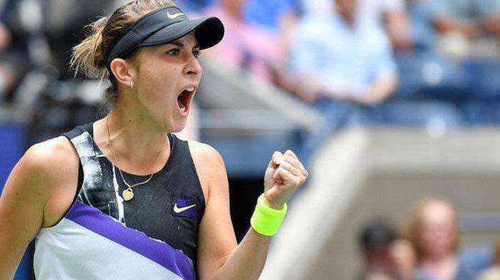 US Open 2019 - Tundukkan Sahabat, Belinda Bencic Pijak Semifinal Pertama Grand Slam