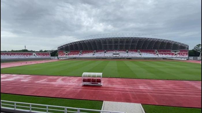 Ada Warna Belum Solid di Tribun Stadion Gelora Sriwijaya Jakabaring, Ini Penjelasan Basyaruddin