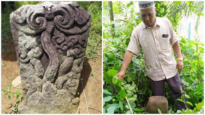 NISAN Kuno Ditemukan di Desa Muara Cawang Lahat, Ada Juga Lumpang Raksasa dan Arca Bentuk Kerbau
