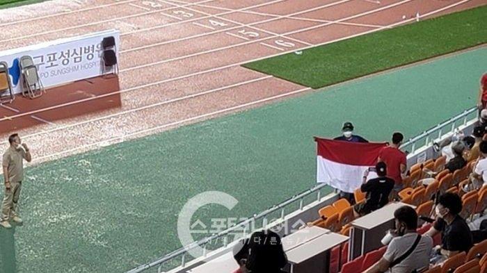 Bendera Merah Putih Dilarang Berkibar Saat Suporter Indonesia Dukung Asnawi Mangkualam: Diawasi