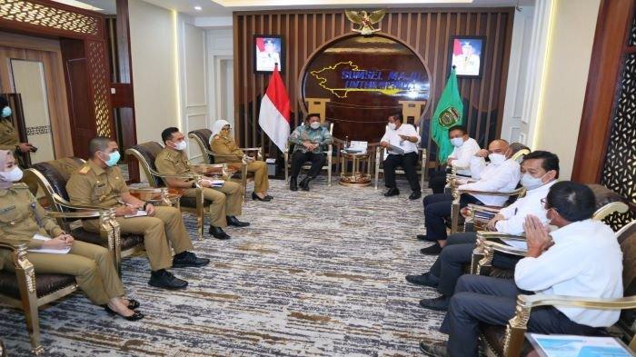 Dukung Pembangunan Kelistrikan Sumsel, HD Sambut Kunjungan Direktur PLN Regional Sumatera Kalimantan