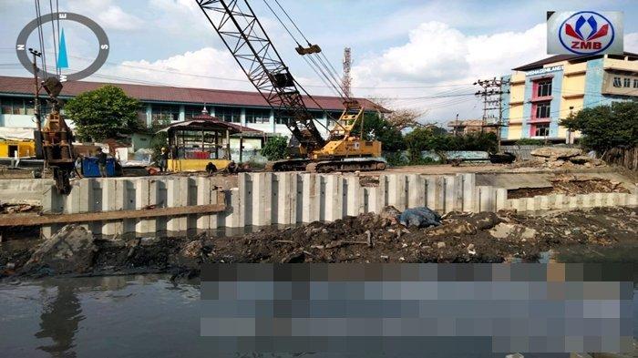 Akhir 2021 Akan Ada Pedestrian dan Bunga Sakura di Sungai Sekanak Lambidaro Palembang, Dananya 50 M