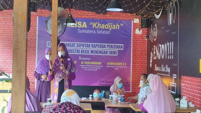 Dinas Perindustrian Pemkot  Palembang Mengusulkan Reperda Izin Usaha Berbasis Risiko ke DPRD Kota