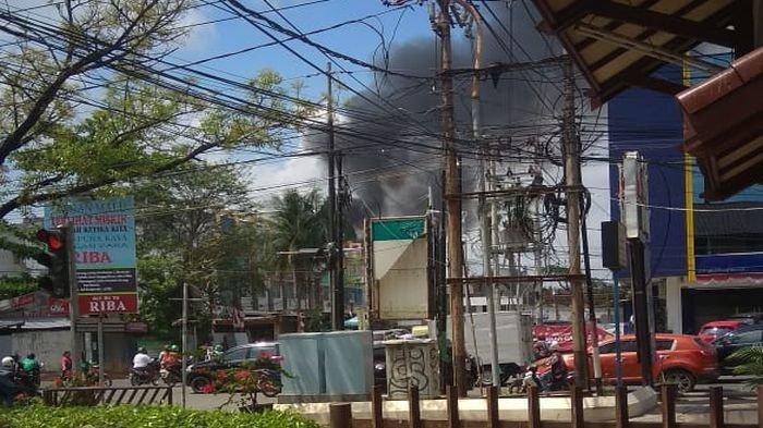 BREAKING NEWS: Terjadi Kebakaran di Lorong Sepakat Kuto Palembang