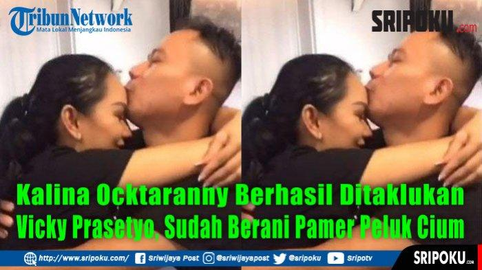 Resmi Dilamar, Kalina Oktaranny Nangis saat Cium Tangan Vicky Prasetyo, Anak dan Orangtua Tak Hadir