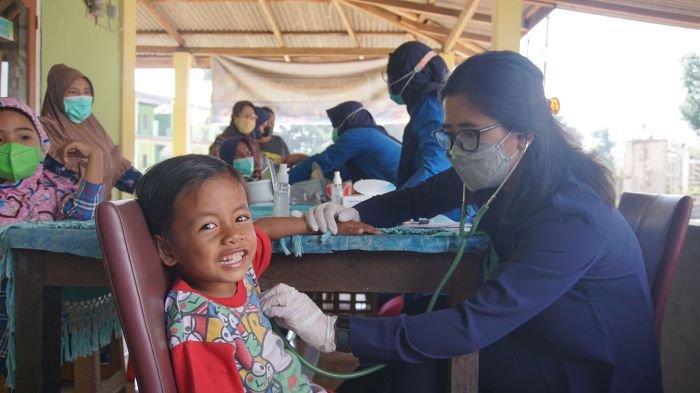 Berobat Gratis Disambut Antusias Oleh Warga Tanjung Enim, Ini Kata Warga Desa Tegal Rejo