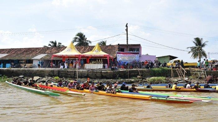 HUT Kemerdekaan RI belum Tiba tapi Ada Lomba Bidar di Sungai Ogan Kampung Bahari Palembang, Ada Apa
