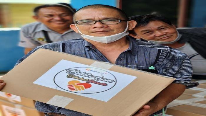 Jelang Ramadhan, Humas PTBA Tbk Sambangi Rumah Jurnalis PWI Muaraenim