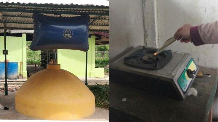 Biogas Dalam Integrasi Peternakan dan Pertanian di SMK PP Negeri Sembawa