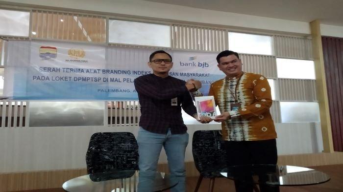 Bank BJB Bantu Alat Digital Ukur Kepuasan Masyarakat Yang Mendapat  Layanan DPMPTSP Palembang