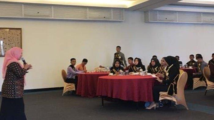 40 Bujang Gadis Serasan Dapat Pencerahan dari BNN Kabupaten Muaraenim Soal Narkoba