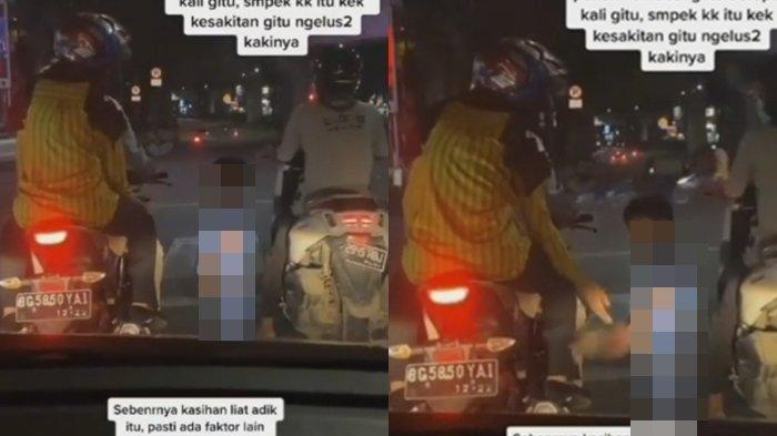 VIRAL Seorang Bocah Pakai Kemoceng di Simpang Charitas Palembang, Ini yang Dilakukan si Bocah!