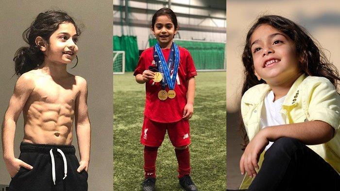 RAMBUT Gondrong dengan Perut Six Pack, Bocah 6 Tahun Ini Jadi Rebutan Klub Bola Dunia, Ini Sosoknya!