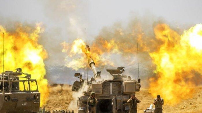 1.500 Roket HAMAS Hancurkan Pemukiman Yahudi Israel: Gaza Kini Bak Kota Hantu Dibombardir 24 Jam