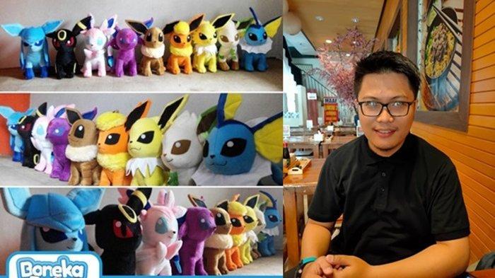 Berkat Asian Games, Cowok Palembang Ini Beromset  Rp 10 Juta Dari Boneka