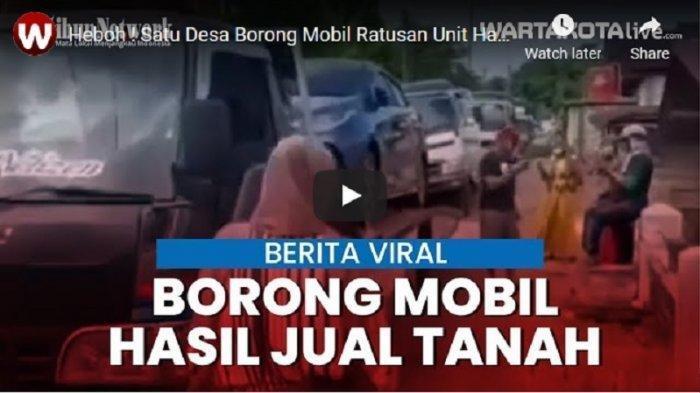 Warga Satu Desa Ramai-ramai Borong 190 Mobil Baru, Mulai dari CRV, Pajero, Innova, Apa Yang Terjadi