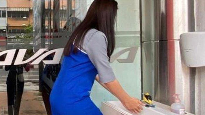 BPBD Perusahaan Sediakan tempat cuci tangan di Kantor