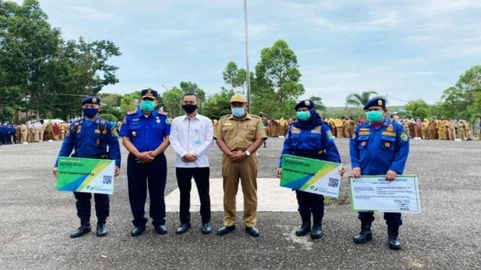 Non ASN Dinas Damkar Kabupaten PALI Terlindungi program BPJAMSOSTEK