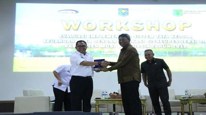 BPKP Pusat Nilai Pengelolaan Sistem Keuangan Desa di Muba Perfect