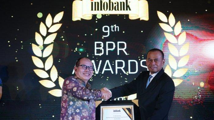 Dinilai Positif Soal Pertumbuhan Aset, BPR Palembang Sabet Infobank BPR Award
