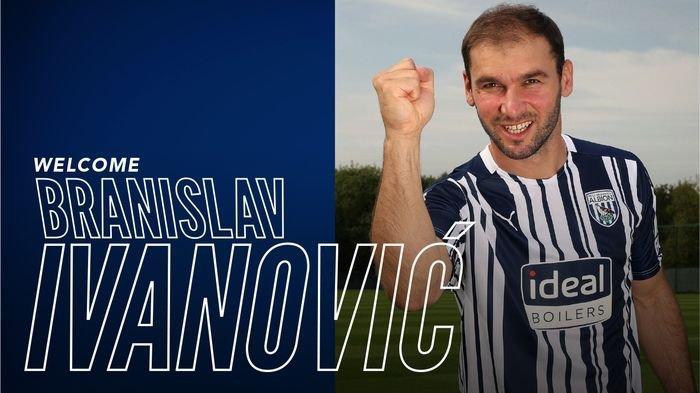 Pemain Bertahan asal Serbia Branislav Ivanovic Merumput Lagi di Liga Inggris, Gabung West Bromwich