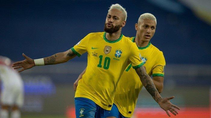 Siaran Langsung Copa America 2021 Brasil vs Peru, Ini Link Live Streaming Indosiar Nonton Neymar cs