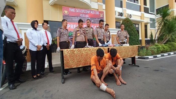 BREAKING NEWS: Dua Begal Ogan Komering Ulu Sumsel Ditembak Petugas Polsek Lubukraja
