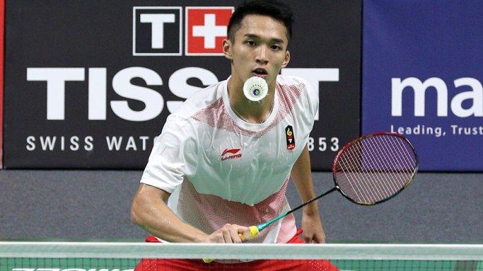 Hasil Indonesia Open 2019 - Kalahkan Wakil Denmark, Jonatan Christie Melaju ke Perempat Final