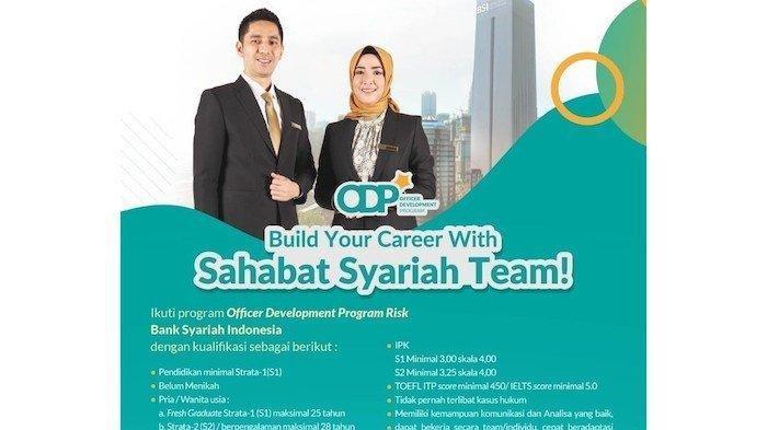 Lowongan kerja di BSI atau Bank Syariah Indonesia Juni 2021