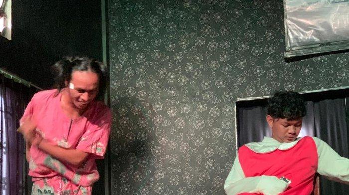 Teater dan Komedi Wong Gerot Gelar Pertunjukan 'Mini Show di SMAN 9 Palembang