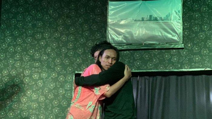 Teater dan Komedi Wong Gerot  Gelar Pertunjukan 'Mini Show' di SMAN 9 Palembang