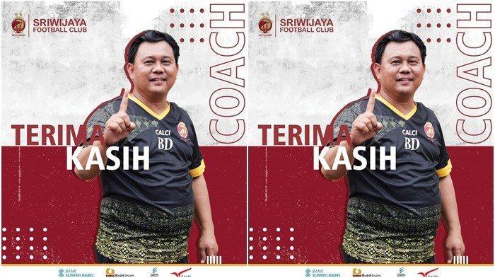 Lisensi Tak Sesuai Standar Sriwijaya FC, Ini Alasan Manajemen Sudahi Kontrak Budi Jo