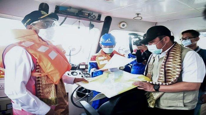 Menhub Budi Karya Sumadi Targetkan Pelabuhan Laut Dalam Tanjung Carat di Banyuasin Selesai 2023