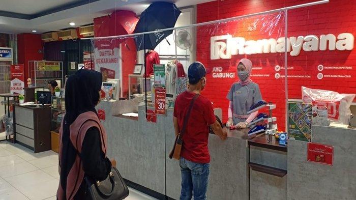 Ramayana Store Palembang Kembali Buka, Kini Hanya Buka Satu Pintu, Juga Ada Layanan Order by Online