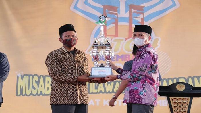 Kecamatan Bukit Kecil Sabet Juara Pertama MTQH Tingkat Kota Palembang