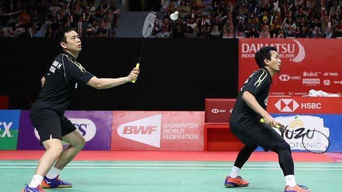 Hasil Malaysia Masters 2020 - Ahsan/Hendra Akui Menara Kembar China Lebih Unggul