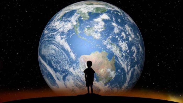 Bikin Ngeri, Inilah Eksistensi Kita di Dunia, Cuma Debu dan Kamu Masih Sombong?
