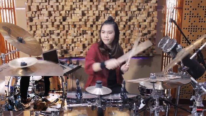Profil Bunga Bangsa Drummer 15 Tahun Asal Indonesia, Disebut Perpaduan Mike Portnoy dan Mike Mangini