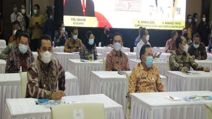 Ikuti Audiensi Pencegahan Korupsi Bareng Firli Bahuri, Bupati Banyuasin Askolani Sebut Jadi Acuan