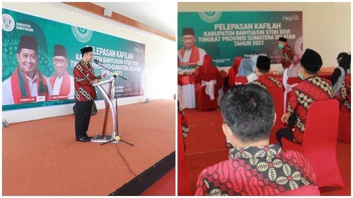 Askolani Lepas Peserta Lomba STQH Tingkat Provinsi Sumsel ke Kabupaten OKU Timur