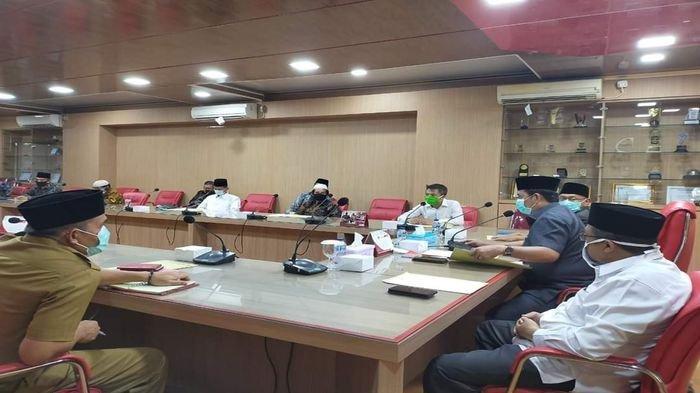 Cegah Penyebaran Covid-19,Pemkab & MUI Banyuasin Keluarkan Aturan  Aktivitas Ramadhan & Idul Fitri
