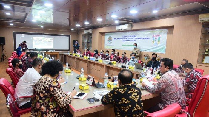 Bupati Banyuasin H Askolani Buka Sosialisasi RPPLH Kabupaten Banyuasin