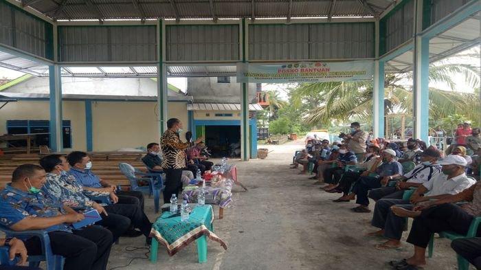 Bupati Lahat Cik Ujang Sambangi Warga Pasar Bawah Pasca Kebakaran Ini Janjinya & Sebut Rumah Type 36